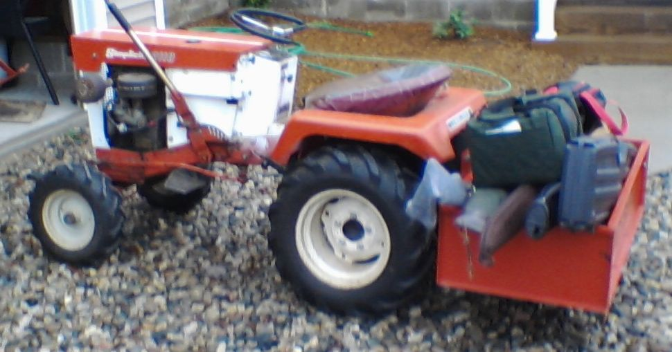 Tractor Carry All Box : Michael s tractors simplicity and allis chalmers garden