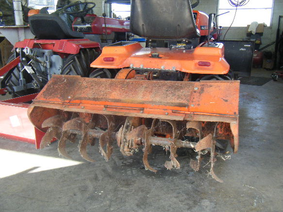 Michael 39 S Tractors Simplicity And Allis Chalmers Garden Tractors Ariens Gt14 Hydro Tiller