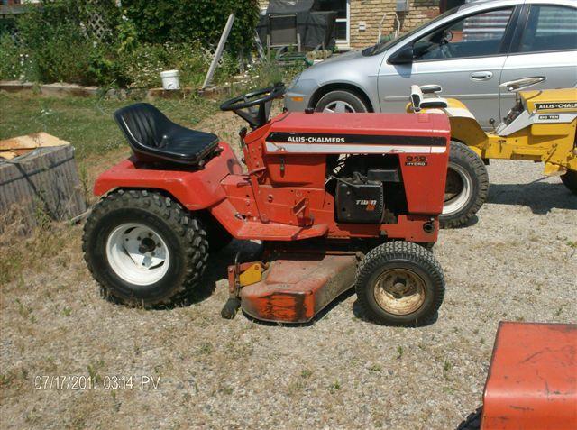 Allis Chalmers Garden Tractors : Vine allis chalmers garden tractor parts ftempo