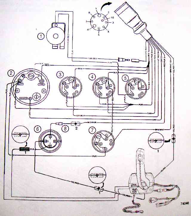 no spark and no power at ignition coil  page 1 iboats 4 Wire Ignition Switch Diagram