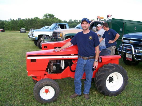 Michaelu0027s Tractors (Simplicity And Allis Chalmers Garden Tractors)   Allis  Chalmers 720