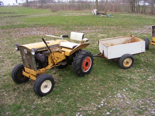 Allis Chalmers B1 Garden Tractor | Rachael Edwards