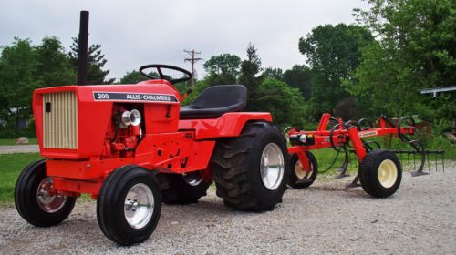 Michael U0026 39 S Tractors  Simplicity And Allis Chalmers Garden