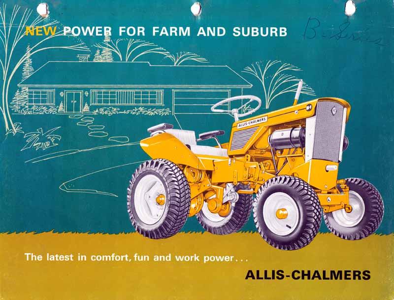 Michael U0026 39 S Tractors  Simplicity And Allis Chalmers Garden Tractors