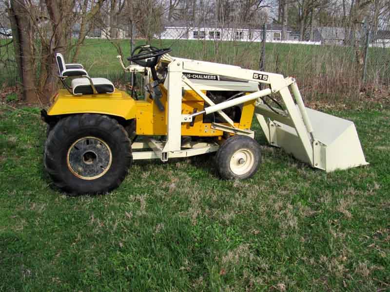Img on Allis Chalmers Garden Tractors Sale