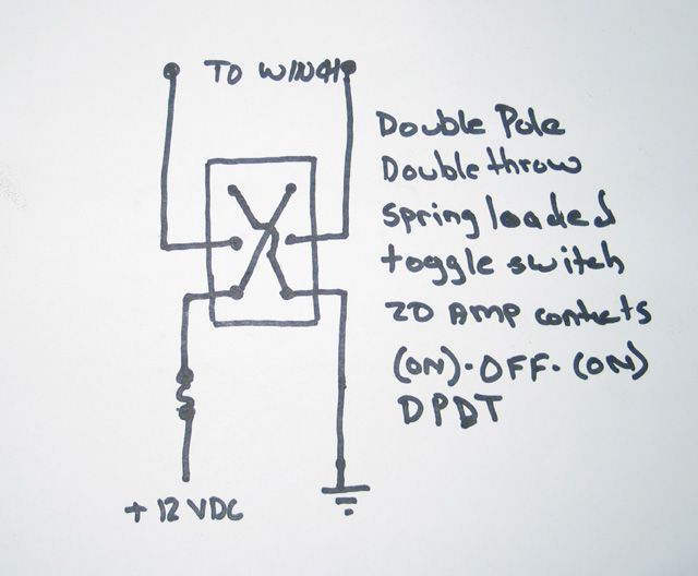 Two Pole Switch Wiring Winch - Block And Schematic Diagrams •