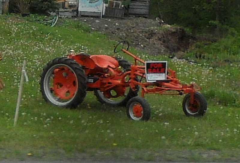 Allis Chalmers Garden Tractors : Michael s tractors simplicity and allis chalmers garden