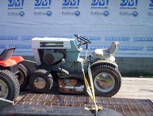 Sears Super 12 Garden Tractor : Michael s tractors simplicity and allis chalmers garden