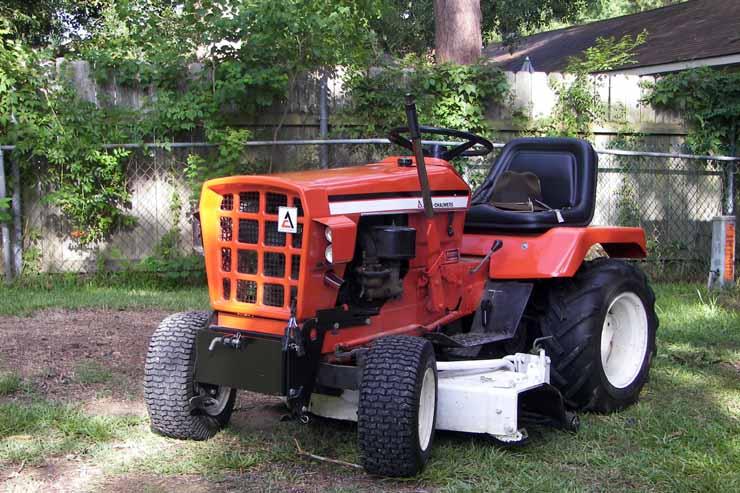 Michaelu0027s Tractors (Simplicity And Allis Chalmers Garden Tractors)    Simplicity 3414S