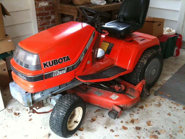 Kubota G2000 Owners Manual